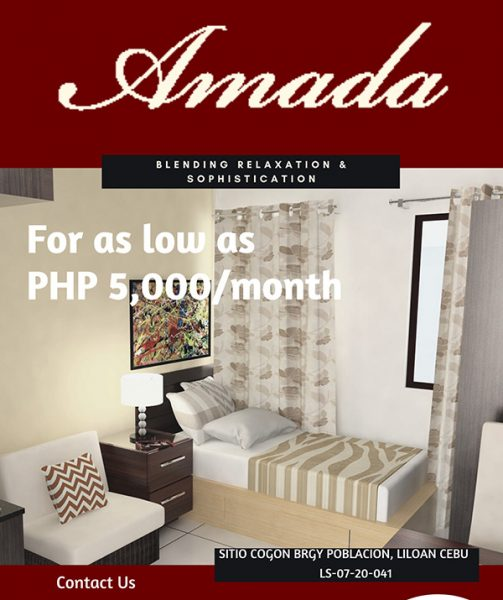 amada condominium liloan, affordable condominium in liloan