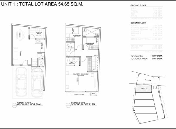 belle maison floor plan