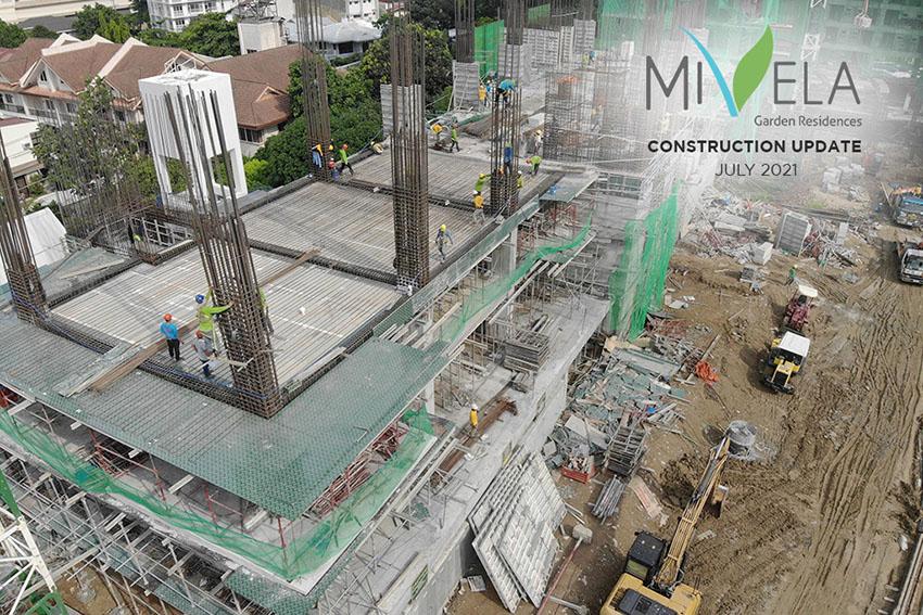 mivela garden residences construction update