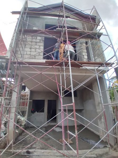 construction update of belle maison cebu
