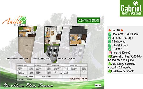 2 car port house for sale in cebu city