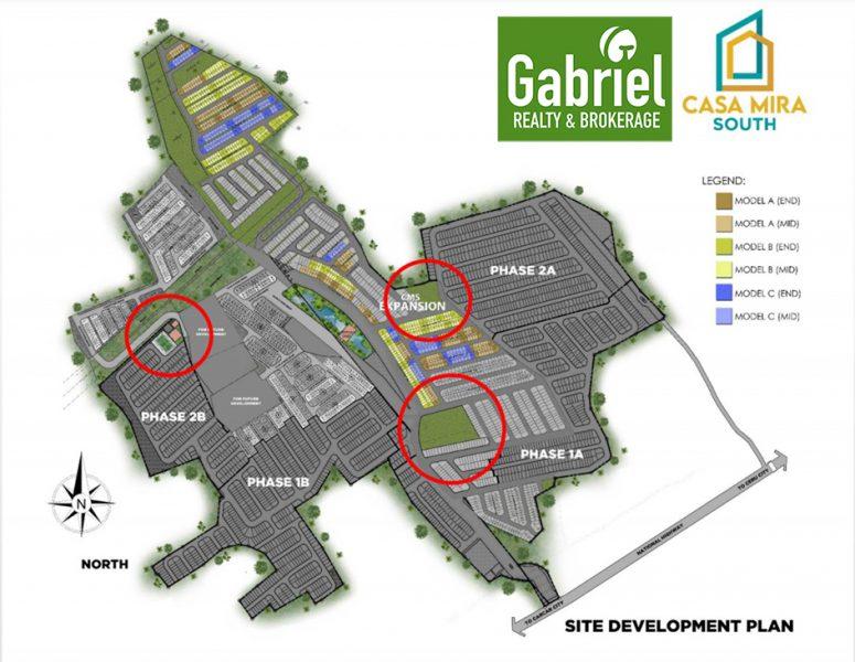 casa mira south expansion site development plan