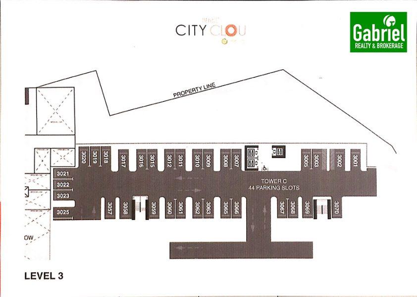 city clou parking unit floor plan